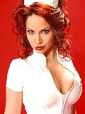Bianca Beauchamp like a nurse